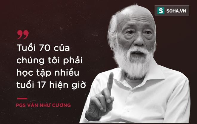 PGS Văn Như Cương: Học trò xem tôi như người bố, người ông nên tôi thấy mình đáng sống lắm - Ảnh 3.