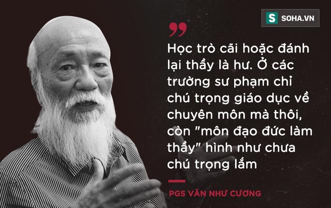 PGS Văn Như Cương: Học trò xem tôi như người bố, người ông nên tôi thấy mình đáng sống lắm - Ảnh 2.