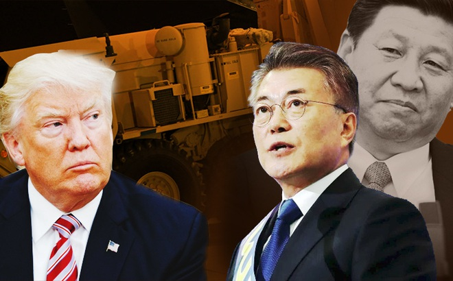 GS Mỹ: Muốn thuyết phục ông Trump rút THAAD, Tổng thống Moon Jae-in sẽ cần tới ông Tập