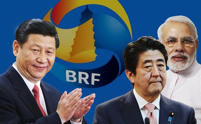 """Giáo sư Mỹ: Nhật-Ấn bắt tay """"chiếu tướng"""" Trung Quốc, đã quá muộn!"""