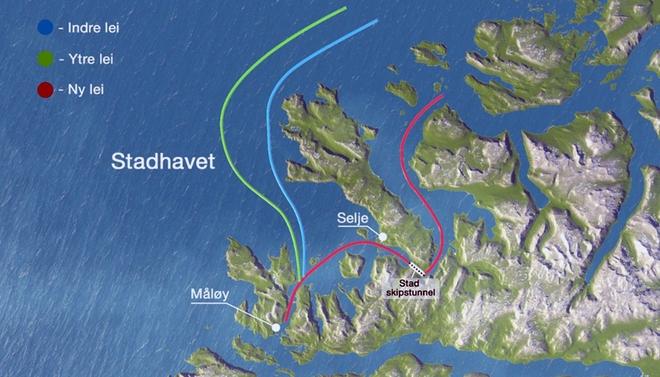 Na Uy chi hơn 300 triệu USD xây đường hầm xuyên núi dành riêng cho tàu thủy - Ảnh 4.