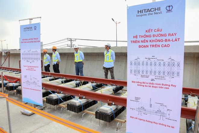 Tuyến Metro trị giá 2,49 tỷ USD Bến Thành - Suối Tiên chính thức lắp đường ray - Ảnh 10.