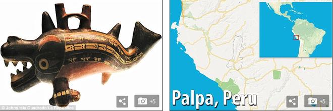 Phát hiện dị thường: Hình vẽ cá voi sát thủ dài 70m giữa sa mạc huyền bí ở Peru - Ảnh 2.