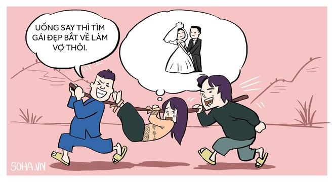 HÍ HỌA tuần qua: Cướp vợ, treo trâu... - Ảnh 1.