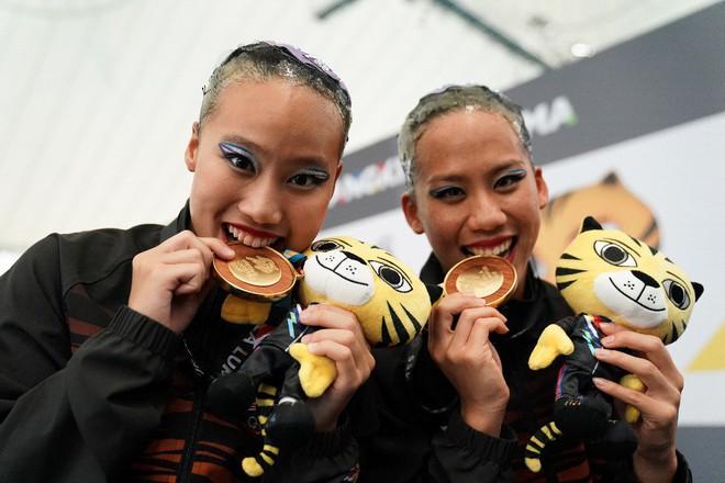 Tổng kết SEA Games 29 ngày 20/8: Wushu lập công đầu; TDDC giành HCV ấn tượng - Ảnh 7.