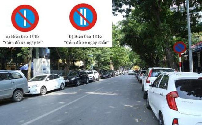 Hà Nội sẽ áp dụng đỗ xe theo ngày chẵn, lẻ hàng loạt phố
