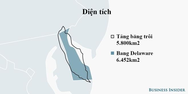 Tảng băng trôi lớn nhất trong lịch sử vừa đứt gãy nặng gấp 20 lần trọng lượng tàu Titanic - Ảnh 2.