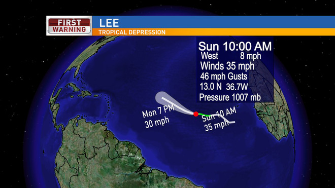 Nước Mỹ lại đứng ngồi không yên với 3 cơn bão mới, một trong chúng sẽ là siêu bão cấp 4 - Ảnh 4.