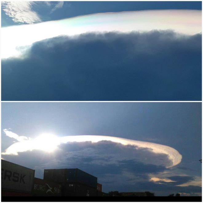 Hiện tượng lạ xuất hiện trên bầu trời Venezuela: Tận thế có xảy ra? - Ảnh 2.