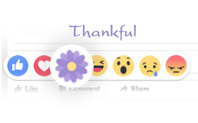 """Facebook ra mắt biểu tượng thả hoa """"Biết ơn"""" nhân Ngày của Mẹ 2017"""