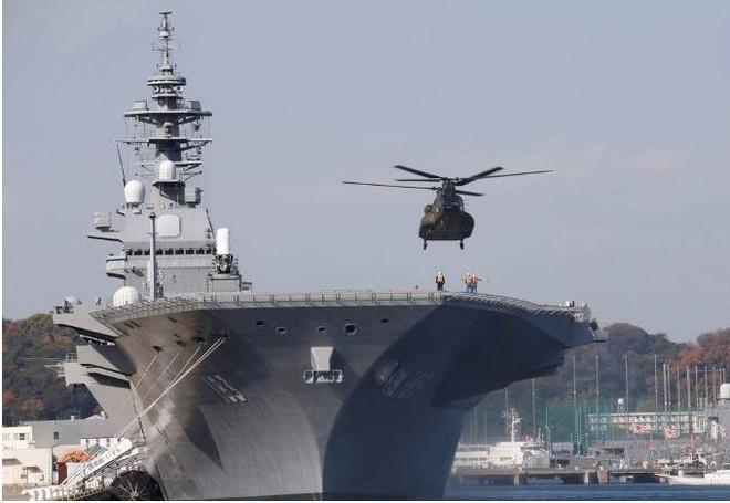 TQ dọa xua đoàn quân hùng hậu đón tiếp nhiệt tình sát thủ săn ngầm Izumo Nhật ở Biển Đông - Ảnh 2.