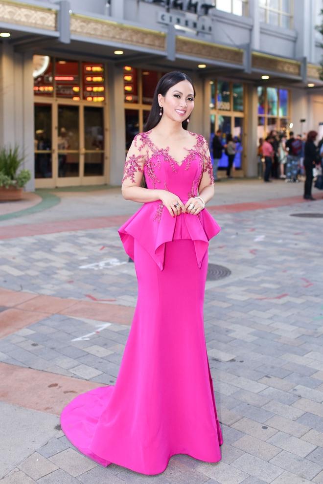 Em gái tỷ phú của Cẩm Ly gây chú ý khi xuất hiện tại thảm đỏ LHP Hollywood - Ảnh 6.