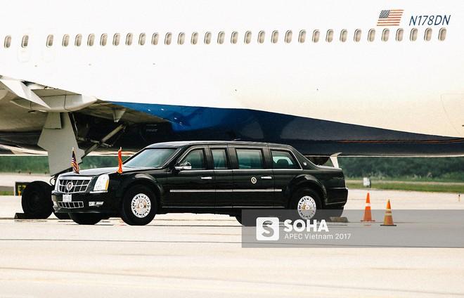 [ẢNH] Quy trình đảm bảo an toàn tuyệt đối cho tổng thống Trump tại sân bay ở Việt Nam - Ảnh 13.