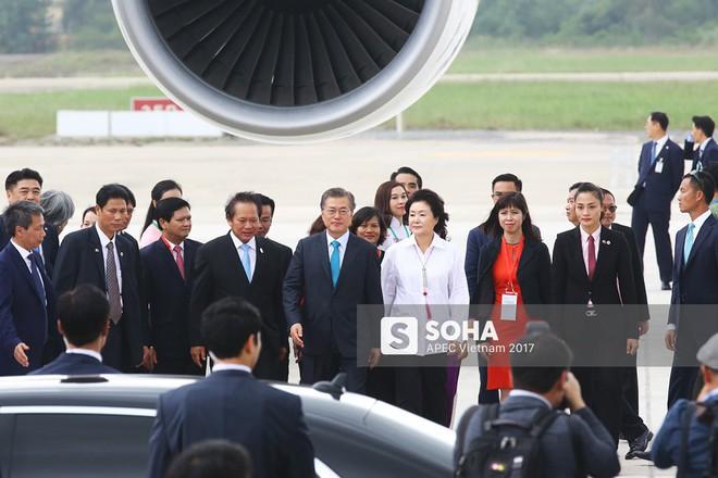 Cờ Việt Nam nổi bật trên máy bay chở lãnh đạo Hàn Quốc, gương mặt mới của APEC - Ảnh 4.