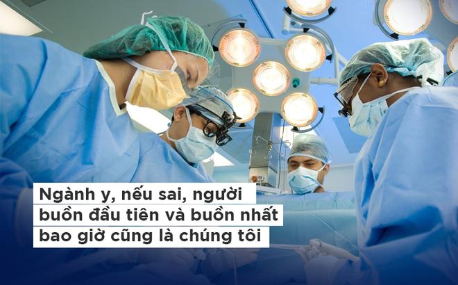 Bác sĩ xin từ bỏ quyền luôn đúng: Chúng tôi vẫn cần sống sau những sai sót