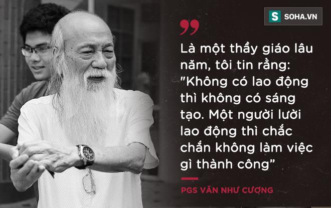 PGS Văn Như Cương: Học trò xem tôi như người bố, người ông nên tôi thấy mình đáng sống lắm - Ảnh 7.