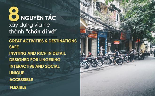 """Bao giờ Việt Nam có """"tư duy vỉa hè"""" và """"tầm nhìn vỉa hè"""" như thế này?"""