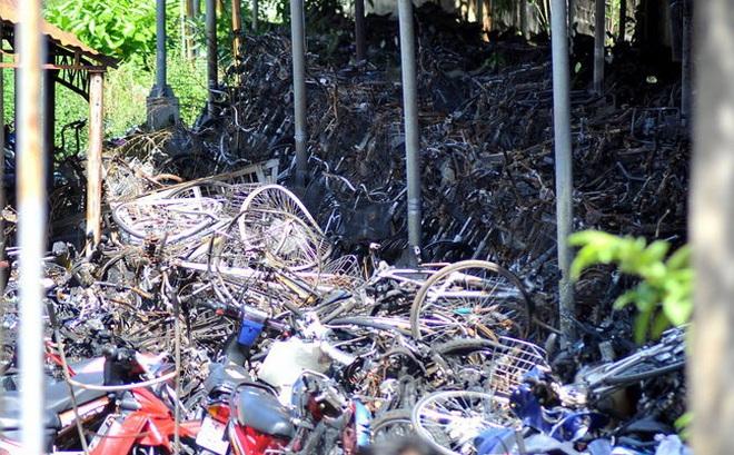 Bắt 6 đối tượng ném bom xăng thiêu rụi kho giữ xe vi phạm của Công an TP Biên Hòa
