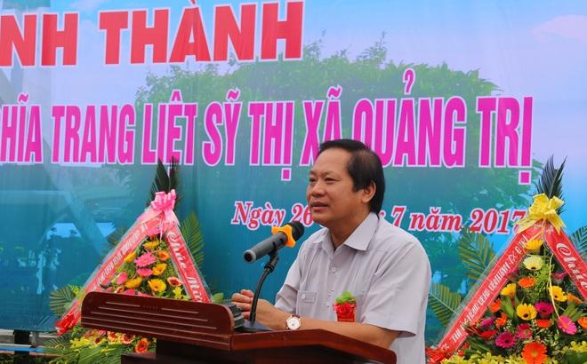"""Bộ trưởng Trương Minh Tuấn: """"Mỗi tấc đất đều có xương máu của cha anh"""""""