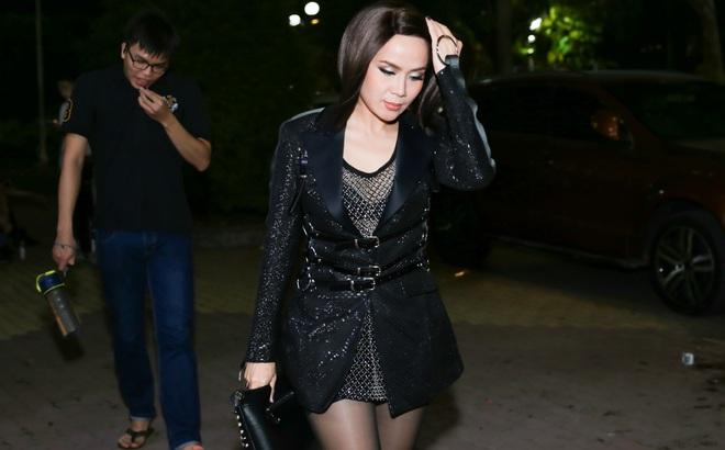 """Lưu Thiên Hương hoảng sợ khi bị giật túi xách sau chung kết """"The Remix"""""""