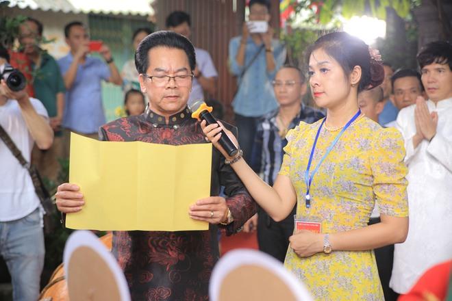 MC Thảo Vân bất ngờ thể hiện giọng hát trong Lễ giỗ Tổ nghề - Ảnh 9.
