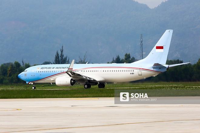[ẢNH] Nhìn lại dàn máy bay, chuyên cơ khủng đổ về Đà Nẵng trong Tuần lễ Cấp cao APEC - Ảnh 12.