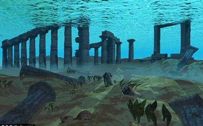 Phát hiện manh mối về thành phố huyền thoại Atlantis dưới đáy đại dương