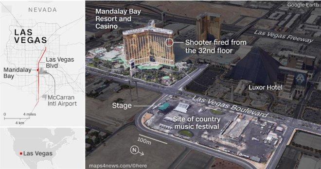 Kế hoạch hoàn hảo của hung thủ xả súng Las Vegas - Ảnh 1.