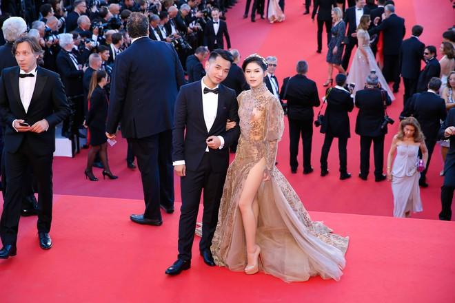 Ngọc Thanh Tâm mặc gợi cảm, đọ sắc cùng dàn sao Hollywood tại Cannes 2017 - Ảnh 10.