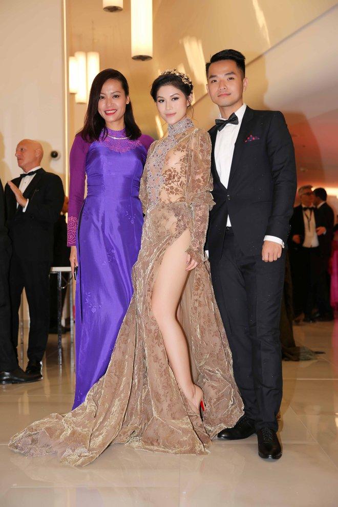 Ngọc Thanh Tâm mặc gợi cảm, đọ sắc cùng dàn sao Hollywood tại Cannes 2017 - Ảnh 7.