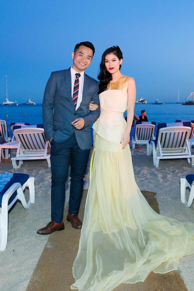 Ngọc Thanh Tâm gây chú ý khi làm MC song ngữ tại LHP phim Cannes 2017 - Ảnh 1.