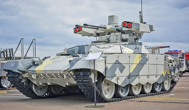 Nga tính toán gì khi đưa phiên bản BMPT lạ tới Syria? - Ảnh 3.