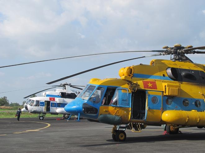 Trực thăng quân sự Trung đoàn 917 chính thức chuyển từ Tân Sơn Nhất về Cần Thơ - Ảnh 4.