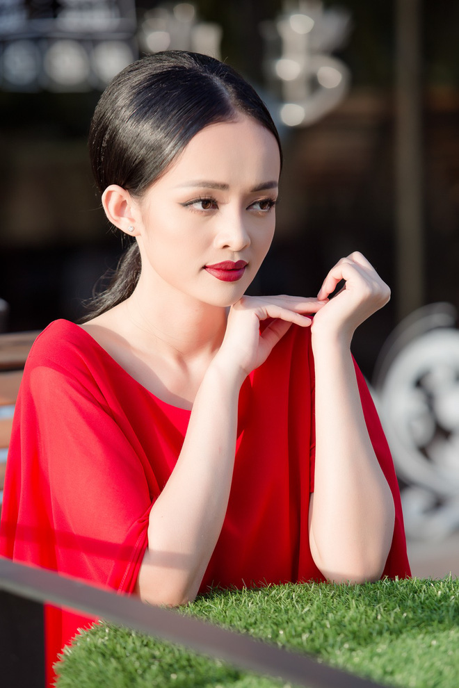 Diện đầm đỏ đi sự kiện, diễn viên Thanh Trúc xinh đẹp nổi bật - Ảnh 5.