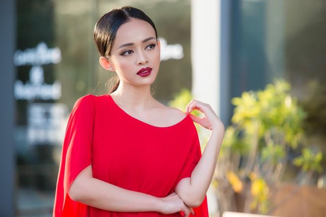 Diện đầm đỏ đi sự kiện, diễn viên Thanh Trúc xinh đẹp nổi bật - Ảnh 8.