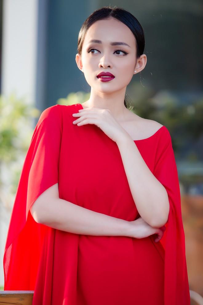 Diện đầm đỏ đi sự kiện, diễn viên Thanh Trúc xinh đẹp nổi bật - Ảnh 12.