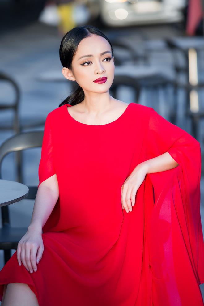 Diện đầm đỏ đi sự kiện, diễn viên Thanh Trúc xinh đẹp nổi bật - Ảnh 4.