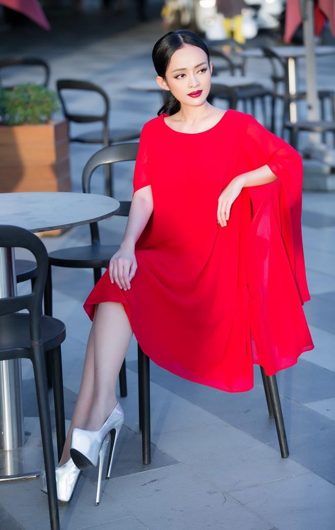 Diện đầm đỏ đi sự kiện, diễn viên Thanh Trúc xinh đẹp nổi bật - Ảnh 10.