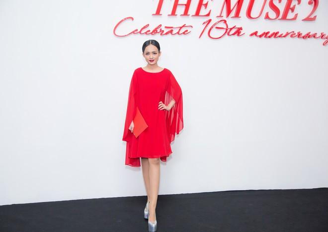 Diện đầm đỏ đi sự kiện, diễn viên Thanh Trúc xinh đẹp nổi bật - Ảnh 3.