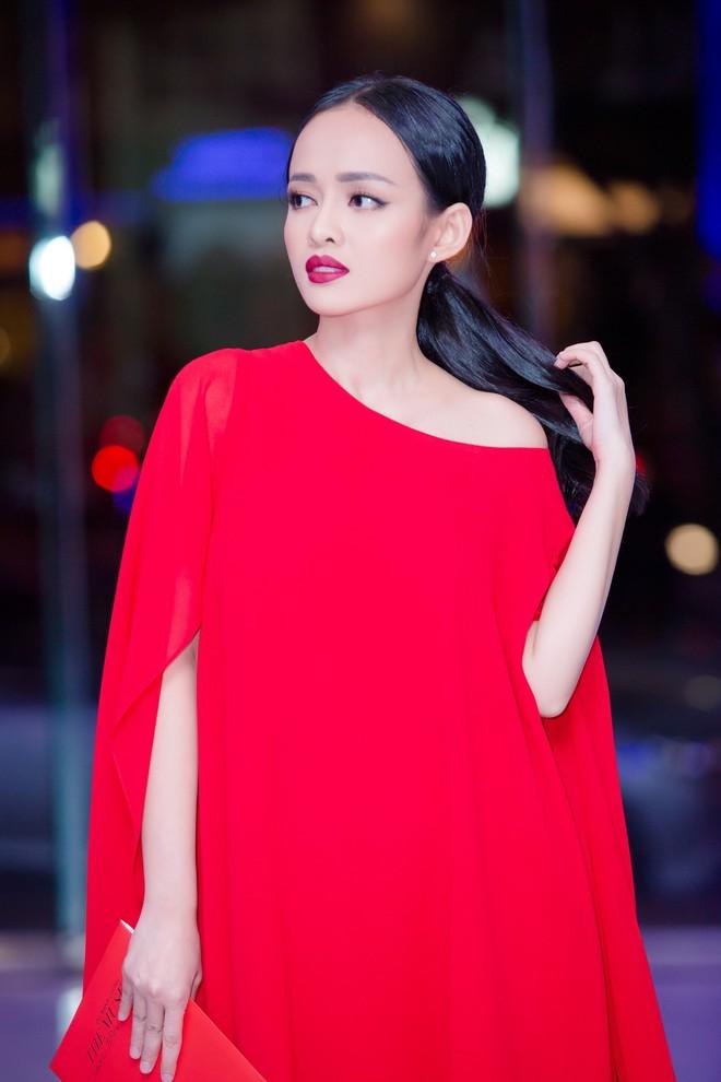 Diện đầm đỏ đi sự kiện, diễn viên Thanh Trúc xinh đẹp nổi bật - Ảnh 6.
