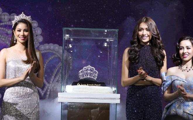 Hé lộ vương miện giá trị gần 3 tỷ đồng của Hoa hậu Hoàn vũ Việt Nam 2017