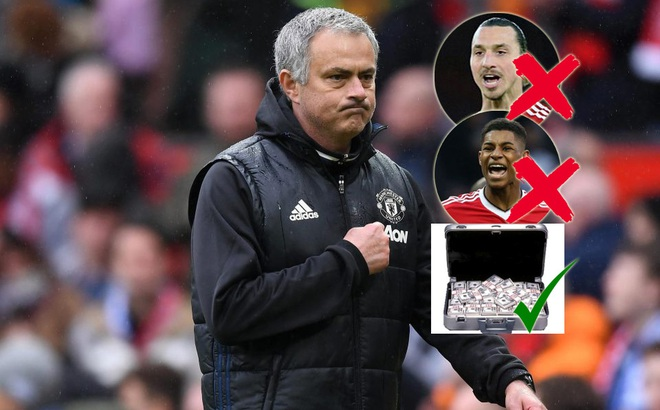 Không phải Ibrahimovic hay Rashford, tất cả những gì Mourinho cần là một tấm séc