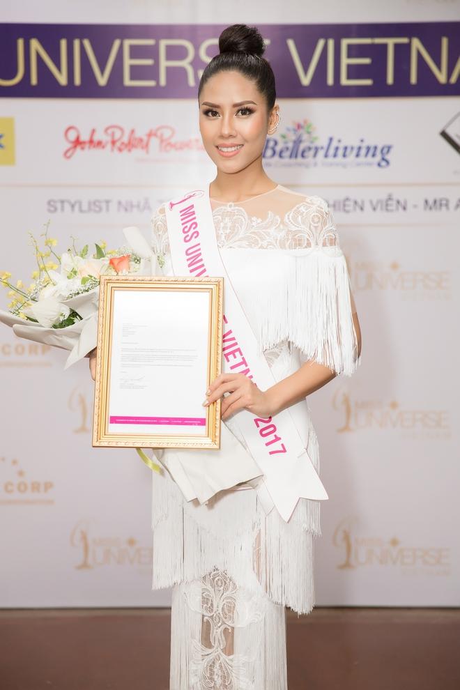 Nguyễn Thị Loan chính thức được cấp phép thi Hoa hậu Hoàn vũ  Thế giới  - Ảnh 1.