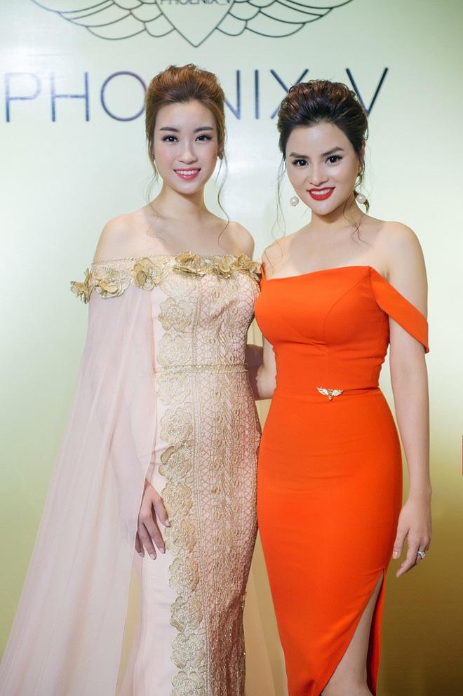 Hoa hậu Mỹ Linh sang Campuchia để ủng hộ Vũ Thu Phương - Ảnh 4.