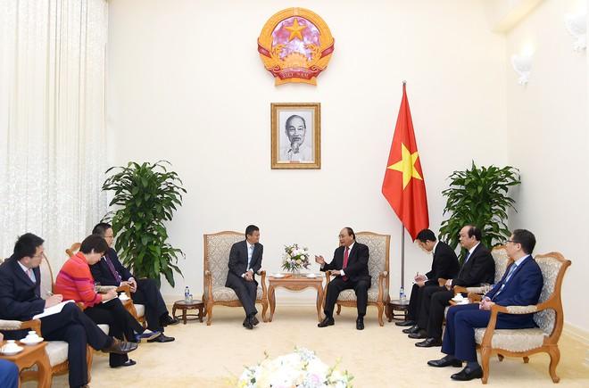 Thủ tướng Nguyễn Xuân Phúc tiếp tỷ phú Jack Ma  - Ảnh 1.