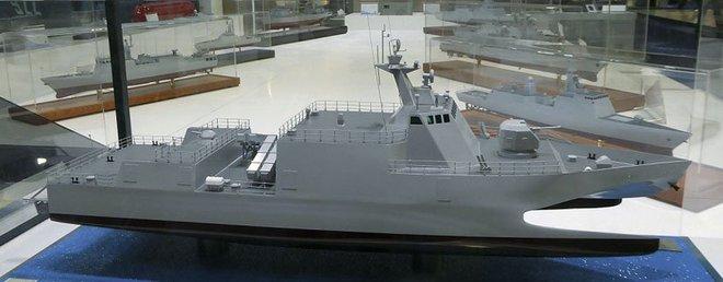 Trung Quốc giới thiệu khinh hạm 3 thân mới - Ảnh 2.