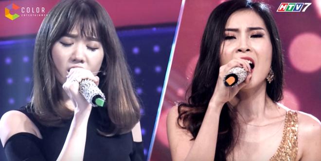 Giọng hát của cô gái xinh đẹp khiến Hari Won sốc - Ảnh 1.