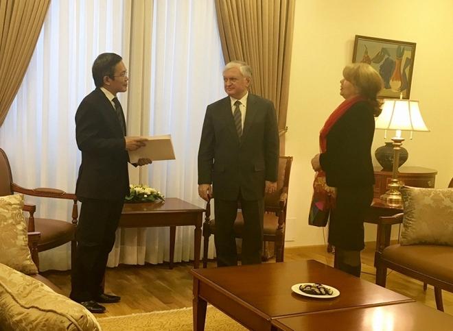 Ông Trần Đăng Tuấn làm Lãnh sự danh dự Cộng hoà Armenia tại Việt Nam - Ảnh 1.