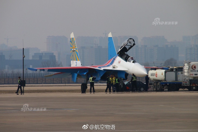 Vì sao phi đội tiêm kích Su-30SM chưa thể hạ cánh xuống Nội Bài? - Ảnh 3.