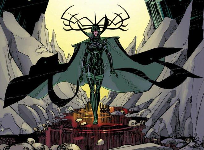Danh tính thật của Hela - Kẻ có thể bóp nát búa thần Mjolnir của Thor - Ảnh 2.